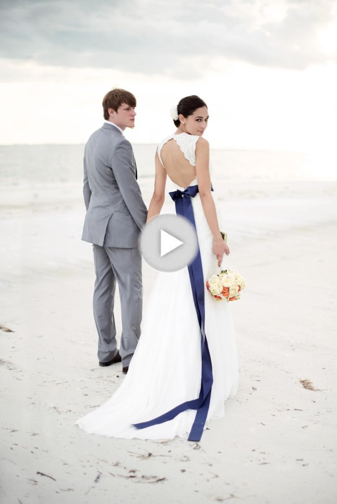 Play this video to see more about Sandals destination weddings!