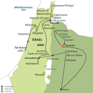 11 Day Tour from Tel Aviv to Amman